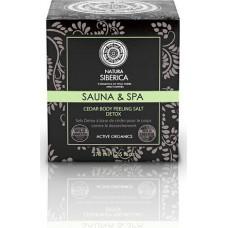 Natura Siberica Sauna & Spa Cedar Body Peeling Salt Detox 370ml