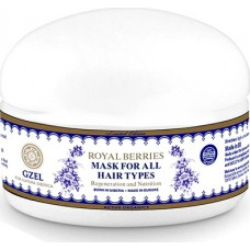 Natura Siberica Czel Royal Berries Hair Mask for All Hair Types 120ml