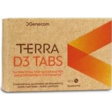 Genecom Terra D3 60 ταμπλέτες