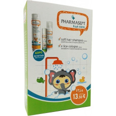 Pharmasept Kid Soft Hair Shampoo 300ml + X-Lice 100ml + Kid Soft Bath 40ml