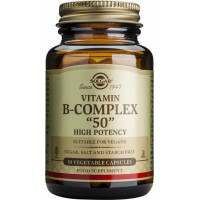 "Solgar B-Complex ""50"" 50 φυτικές κάψουλες"