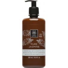 Apivita Eco Pack Shower Gel Pure Jasmine 500ml