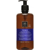 Apivita Εco Pack Shampoo Hippophae TC & Rosemary 500ml