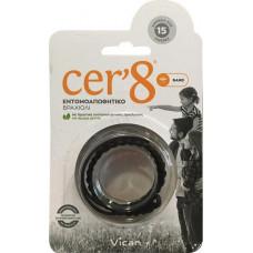 Vican Cer'8 Band Μαύρο 1τμχ