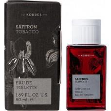 Korres Saffron Tobacco Eau de Toilette 50ml