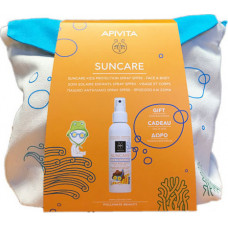 Apivita Suncare Kids Face-body Spray Aloe Calendula SPF50 150ml & Backpack 150ml