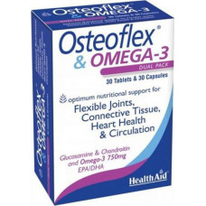 HEALTH AID OSTEOFLEX & OMEGA-3 30tabs + 30caps