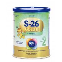 Wyeth Γάλα S-26 GOLD II (από 6 μηνών) 400gr