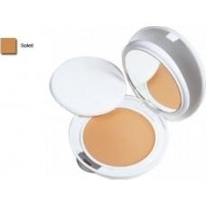 Avene Couvrance Μέικ Απ Σε Μορφή Κρέμας Compact Με Ματ Τελείωμα Για Μεικτό/Λιπαρό Δέρμα Spf30 5.0 Soleil 10g