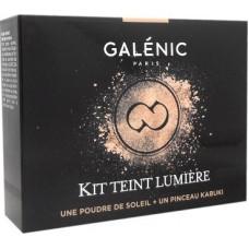 GALENIC TEINT LUMIERE POUDRE DE SOLEIL & PINCEAU KABUKI