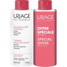 Uriage Eau Micellaire Thermale Sensitive Skin 2x500ml