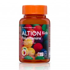 Altion Kids Polyvitamins 60 Μασώμενα Ζελεδάκια