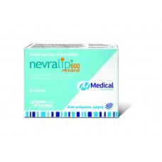 Medical Pharmaquality Nevralip 600 Retard Συμπλήρωμα Διατροφής 20 tabs