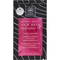 APIVITA EXPRESS BEAUTY HAIR MASK ΤΟΝΩΤΙΚΗ ΜΑΣΚΑ ΜΑΛΛΙΩΝ ΜΕ HIPPOPHAE TC 20 ml