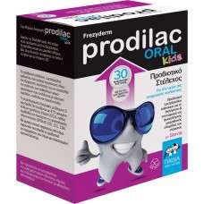 Frezyderm - Prodilac Oral Kids Συμπλήρωμα Προβιοτικών για Παιδιά 3+ ετών, 30 chew. tabs