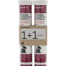 Korres Ginseng Vitamins & Minerals 2 x 18 αναβράζοντα δισκία