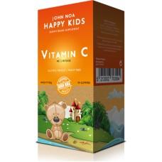 John Noa Happy Kids Vitamin C 90μασώμενες ταμπλέτες