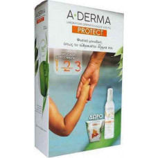 A-Derma Protect Promo Sun Spray Kids SPF50 200ml + Τσαντάκι