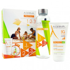 A-Derma Protect AD Cream SPF50+ 150ml & Παιδικό Παγούρι