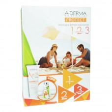 A-Derma Protect Kids SPF50+ 250ml & Πλαστικό Μπουκάλι/Παγούρι