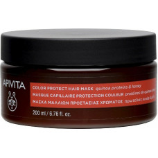 Apivita Color Seal Μάσκα Μαλλιών Πρωτεΐνες Κινόα και Μέλι 200ml