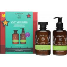 Apivita Uplift Your Mood Tonic Mountain Tea Xmas Set