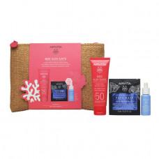 Apivita Bee Sun Safe Hydra Fresh Gel Face Cream SPF50 50ml New Summer Set