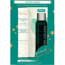 Avene Cleanance Soin Matifiant 40ml and Cleanance Gel Set