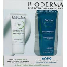 Bioderma Sebium Global 30ml & Sebium Gel Moussant 45ml