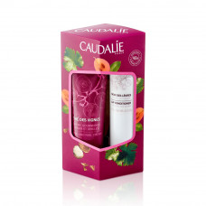 Caudalie Set The des Vignes Hand and Nail Cream 30ml & Lip Conditioner 4.5g
