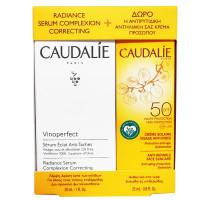 Caudalie Set Vinoperfect Serum και Αντιηλιακό Προσώπου