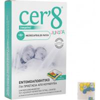 Vican Cer'8 Junior Εντομοαπωθητικό Microcapsules Patch 24τμχ