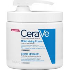 CeraVe Moisturising Cream For Dry To Very Dry Skin Pump 454gr