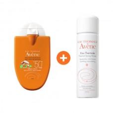 Avene Reflexe Solaire Bebies & Children SPF50+ 30ml & Avene Thermal Spring Water 50ml
