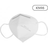 Μάσκα Λευκή FFP2 Respirator 50τχμ σε ατομική συσκευασία