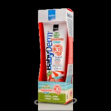 Intermed Babyderm Sunscreen Cream Face & Body SPF30 300ml