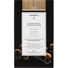 Korres Argan Oil Ageless Colorant Νο 8.17 Ξανθό Ανοιχτό Μπεζ
