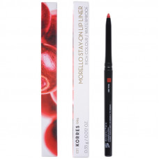 Korres Μorello Stay On Lip Liner 02 Real Red