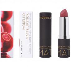 Korres Morello Matte Lipstick 23 Natural Purple