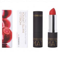 Korres Morello Matte Lipstick 54 Classic Red