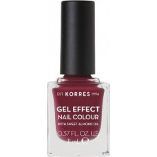 Korres Gel Effect Nail Colour 74 Berry Addict