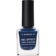 Korres Gel Effect Nail Colour 84 Indigo Blue