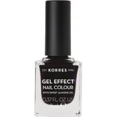 Korres Gel Effect Nail Colour 76 Smokey Plum