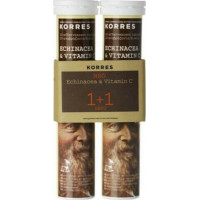 Korres Echinacea & Vitamin C 2 x 18 αναβράζοντα δισκία