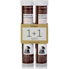 Korres Acerola & Vitamin C 2 x 18 αναβράζοντα δισκία