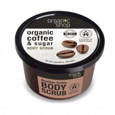 Organic Shop Organic Coffee & Sugar Body Scrub 250ml