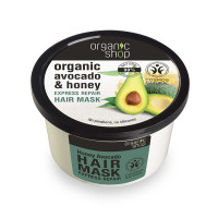 Organic Shop Organic Avocanto & Honey Express Repair Hair Mask 250ml