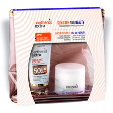 Panthenol Sun Color Face Gel SPF50 50ml & Extra Face And Eye Cream 50ml