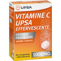 UPSA Upsavit C 1000mg 20 αναβράζοντα δισκία Orange