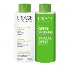 Uriage Eau Micellaire Thermale Combination/Oily Skin 2x500ml